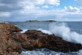 El temporal deja rachas de 118 km/h en Alfàbia y 78 km/h en Ibiza y Capdepera