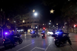 La policía sorprende de noche a dos intrusos que se colaron en los juzgados de sa Gerreria