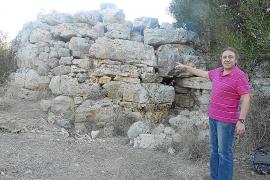 Asociaciones culturales apoyan la restauración del talaiot de Can Jordi