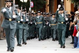 La Guardia Civil celebra su patrona destacando el aumento de detenciones y la desarticulación de 14 grupos organizados