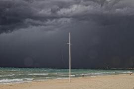 Importante tromba de agua en Mallorca