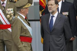 El Rey habla con Rajoy sobre «lo de españolizar a los catalanes»