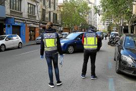 Dos detenidos por sustraer un paquete de correos y agredir a un cartero en Palma