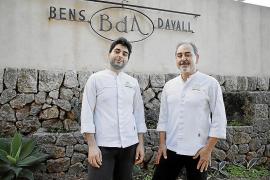 Benet Vicens, chef del Bens d'Avall: «El 80 % de nuestros clientes pensaba que ya teníamos la estrella»
