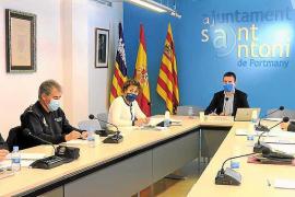 La Junta Local de Seguridad de Sant Antoni se celebró ayer por la mañana en el Ayuntamiento