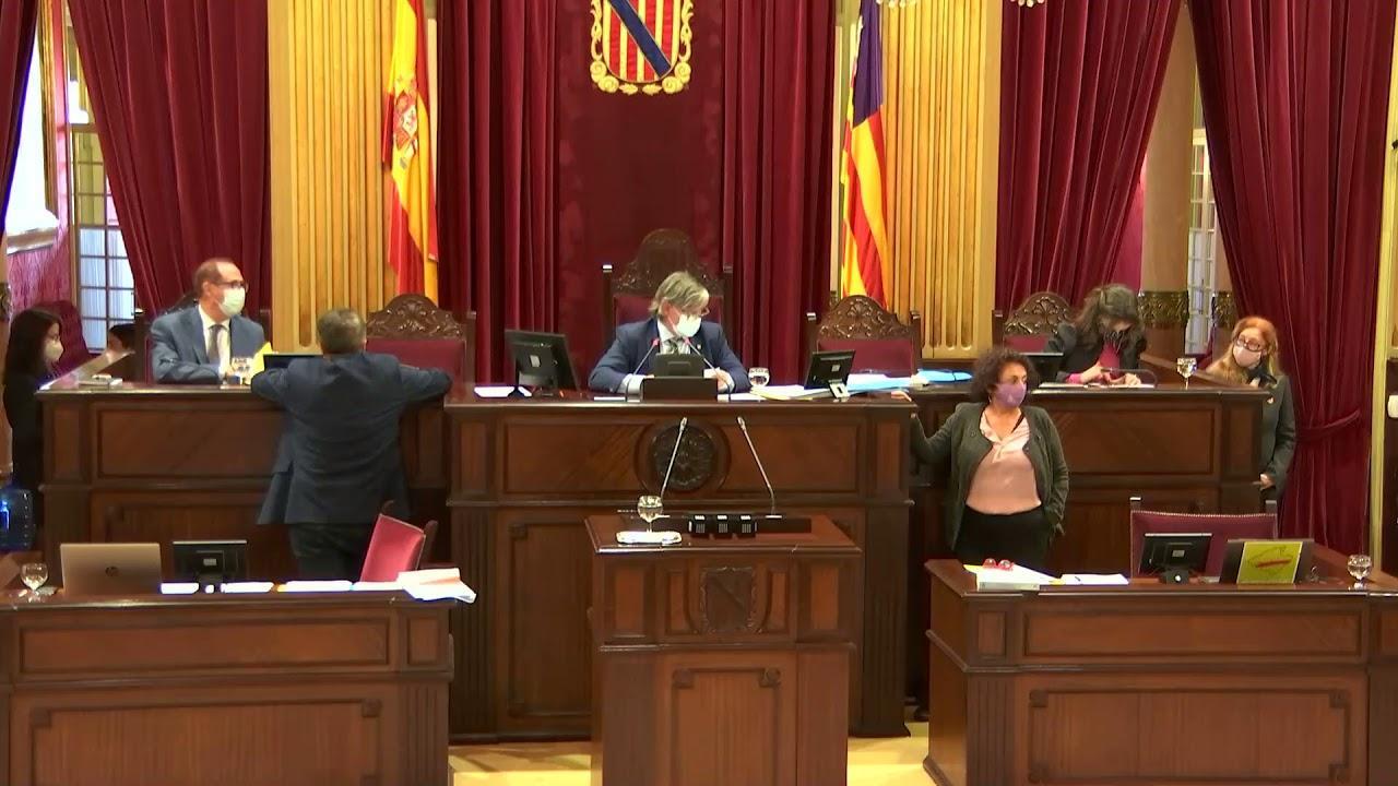 Arranca la votación de las cuentas de Baleares para 2021 en el Parlament