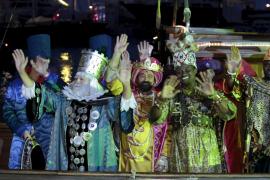 Los Reyes Magos llegarán a una zona cerrada del puerto de Palma