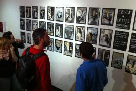 El artista Diego Ingold «amplía fronteras» con una muestra de 'collages' en Madrid
