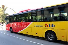 La tarjeta de autobuses TIB será monedero y se podrá usar desde el 1 de enero