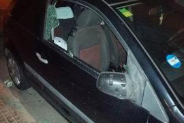 Detenido por destrozar nueve coches en Palma en una sola noche