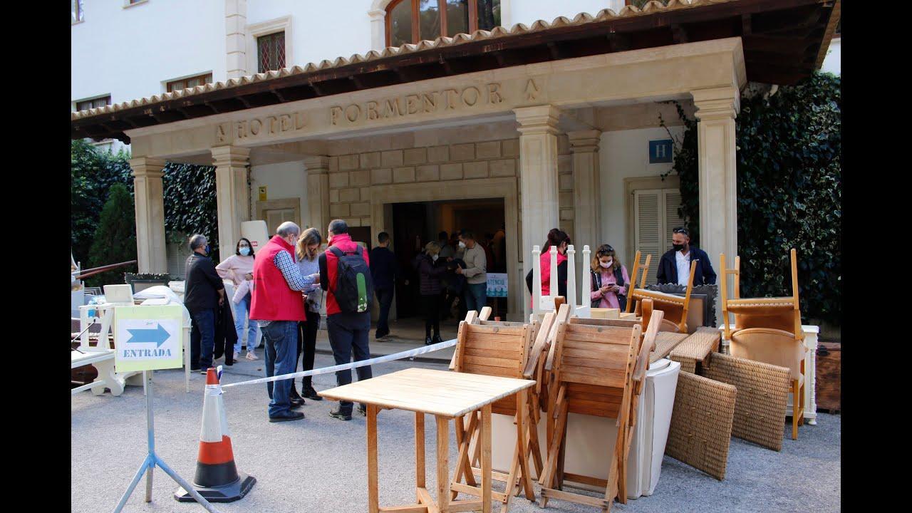Jornada agridulce en la liquidación del 'stock' del hotel Formentor