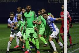 El Atlético Baleares dice adiós a la Copa