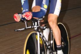 David Muntaner, medalla de  plata en el 'omnium' de la Copa del Mundo