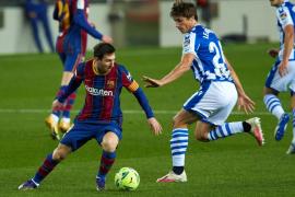 El Barcelona remonta para ganar a la Real Sociedad