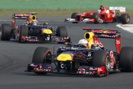 Vettel, tras ganar en Corea, lidera el mundial