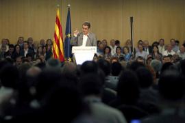 Artur Mas: «Por primera vez en tres siglos, el pueblo catalán decidirá su futuro»