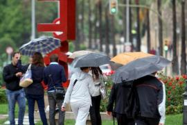 Alerta amarilla  en Mallorca y Menorca por tormentas y fenómenos costeros