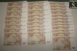 Piden 10 años de cárcel a un hombre por fabricar billetes falsos