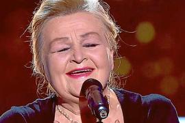 Naida Abanovich, en la final de 'La Voz Senior'