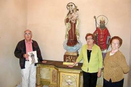 Indignación en Cas Concos por el robo de la imagen de Sant Roc en la iglesia