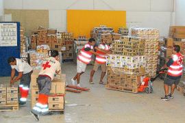Cruz Roja distribuirá más de 13 millones de kilos de ayuda a afectados por la crisis