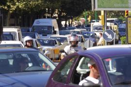 Palma es la tercera ciudad con más congestión de tráfico