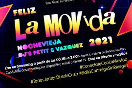 Sant Antoni organiza la fiesta La Movida por streaming para celebrar la entrada al nuevo año