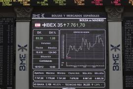 La Bolsa repunta más de un 3 por ciento por la inminencia del rescate a España