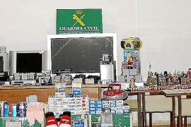 La Guardia Civil esclarece más de 30 robos en chalets de la Part Forana