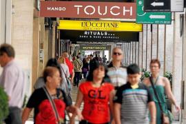 Franquicias comerciales del centro de Palma baten los récords de ventas de todo el Estado