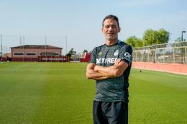 Luis García Plaza, entrenador del Mallorca: «Lo que define a este equipo es su compromiso»