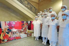 Los menús navideños de centros hospitalarios y acuartelamientos de Mallorca
