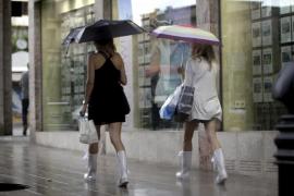 Temporal de viento y lluvia desde hoy y hasta el domingo