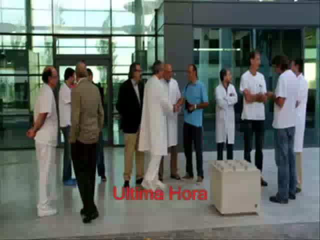 'Performance' en Palma contra la no asistencia sanitaria a los colectivos vulnerables