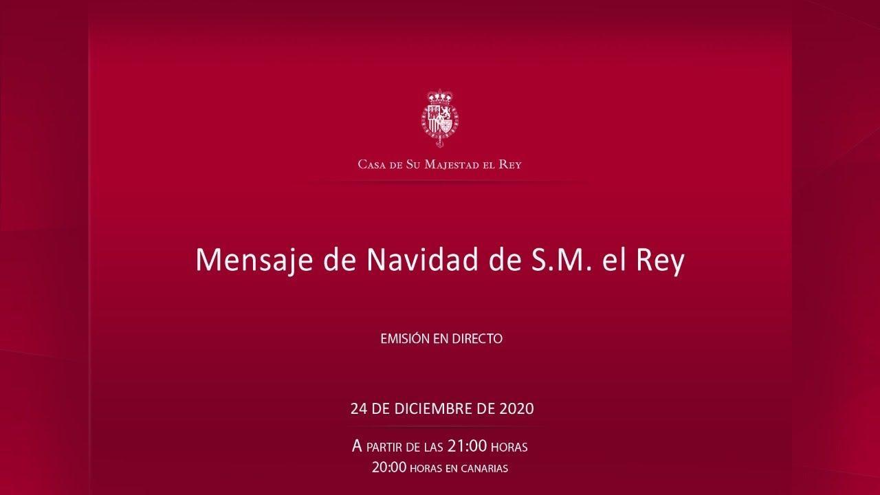 Lee y ve aquí el mensaje de Navidad íntegro del rey de España