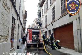 Un incendio en un piso de Manacor obliga a evacuar a siete personas