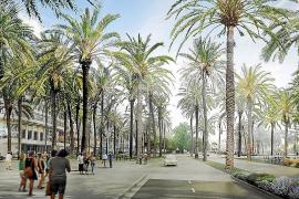 La remodelación del Passeig Marítim, el gran proyecto de Palma para 2021