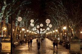 El alumbrado navideño de Palma se encenderá el 29 de noviembre