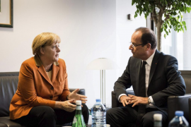 Los líderes europeos discuten las  condiciones de un posible rescate de España