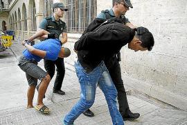 Pasan a disposición judicial dos integrantes de la banda que asaltó 56 casas de Mallorca