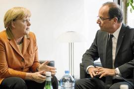 El rescate de España enfrenta a Merkel y Hollande y agudiza la crisis europea