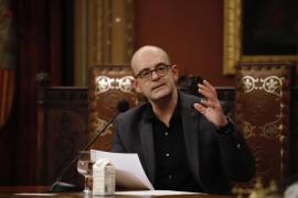 El escritor Sebastià Alzamora reivindica a los marginados de Palma en su pregón de la Festa de l'Estendard