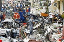 Ocho muertos en un atentado con coche bomba en Beirut