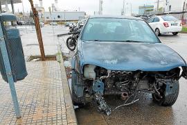 Palma contabiliza más de un millar de vehículos abandonados en sus calles