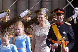 El príncipe heredero de Luxemburgo se casó ante la realeza de todo el mundo