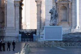 Una «dolorosa ciática» impide al papa presidir la misa de fin de año
