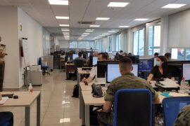 La Central de Coordinación COVID de Baleares rastrea más de 500 positivos en un día