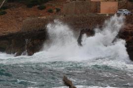 Alerta amarilla por tormentas y mala mar en parte de Mallorca