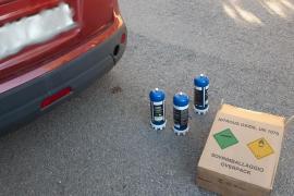 Detenido en Ibiza por organizar una fiesta ilegal de Nochevieja con gas de la risa