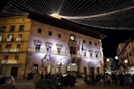 El Ajuntament de Palma adelanta el apagón de las luces de Navidad